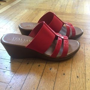 Italian Shoemaker Wedge Sandal